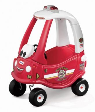 Cozy Coupe Fire Ride N Rescue (RED)