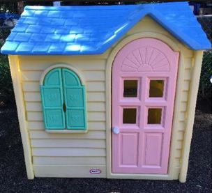Country Cottage Playhouse Vintage