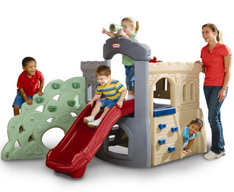 Endless Adventures® Rock Climber and Slide